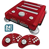 Hyperkin Retron 3 Video Game System for NES/SNES/GENESIS - Red by Hyperkin