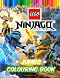 LEGO Ninjago JUMBO Colouring Book: Amazing Colouring Book For Kids of All Ages