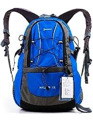 mochilas montaña 30L alpinismo al aire libre del recorrido del bolso hombres y mujeres viajan bandolera