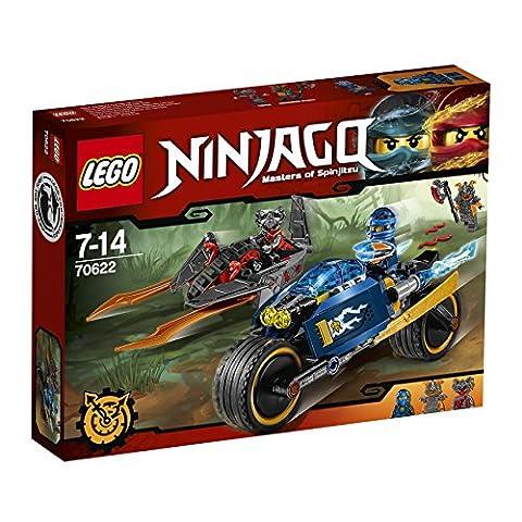 LEGO - 70622 - NINJAGO - Jeu de Construction - L'Éclair du désert
