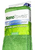 Gli asciugamani Nano Towels® utilizzano la tecnologia brevettata della fibra Nanolon®, il tessuto rivoluzionario che pulisce solo con acqua®, sostituisce i costosi asciugamani di carta e i detergenti tossici e può aiutare a risparmiare mentre rende l...