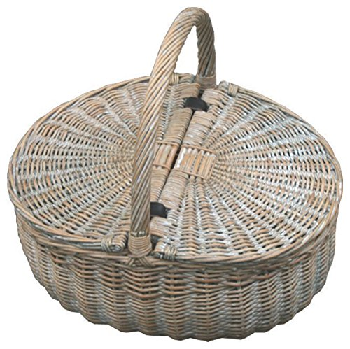 Red Hamper Provence Double Lidded Vide Panier Pique-Nique