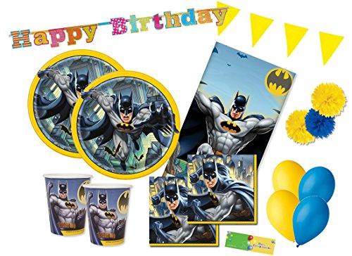 uni-que kit n 46 coordinato compleanno Batman Gotham