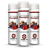 Best Hairloss Shampoos - Code-H Apple Cider Vinegar Shampoo For Hair Growth Review