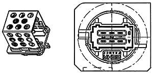 Hella 9ML 351 332-271 Résistance, pulseur d'air habitacle