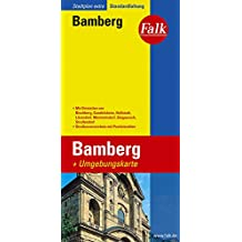 Falk Stadtplan Extra Standardfaltung Bamberg