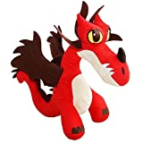 Dragons - Plüsch Figur Kuscheltier Drachen Hakenzahn Hookfang 34x14x33 cm