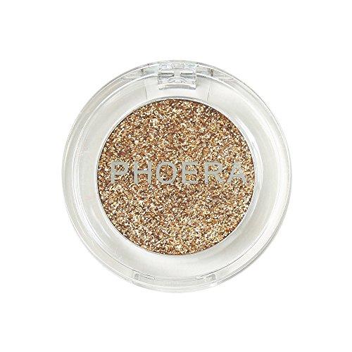 Luckhome Farben Schimmer Matt Mineral Pigment Lidschatten Palette Nude Beauty Make up (H)