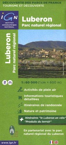 83302 PARC NATUREL REGIONAL DU LUBERON  1/60.000
