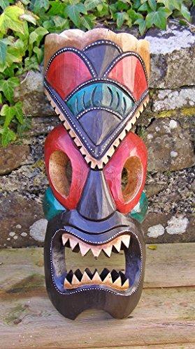 Tiki-Mask-madera-tallada-hecha-a-mano-50-cm-de-alto-comercio-justo