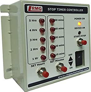stop timer controller for motor pump operated by switch