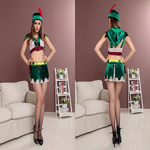 n Hunter Cosplay Kostüm Halloween-Kostüm einheimischen Trachten ()