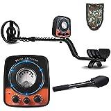 UNIROI Detector de Metales, 2 Modos de Busca, Pantalla LCD, Modo de Sonido, Bobina de Búsqueda Sensible, Impermeable y Fácil de Uso para Profesionales - UD521