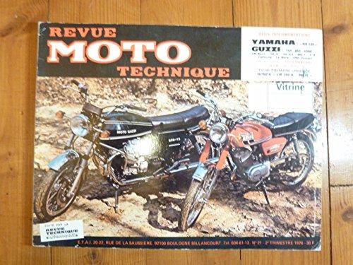 RMT0021 REVUE TECHNIQUE MOTO - YAMAHA RS 125 MOTO GUZZI 750,850,1000 VS, S, Sport, T, LE MANS,CALIFORNIA, CONVERT
