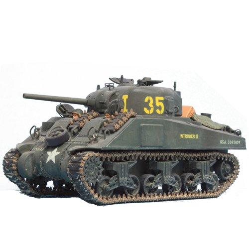 Heller 53006 - Modellbausatz Division leclerc (M4A2 Sherman,GMC,Jepp)