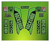 Pegatinas HORQUILLA Rock Shox Recon 2016 ELX33 Stickers Aufkleber AUTOCOLLANT Decals Bicicleta Cycle MTB Bike 26