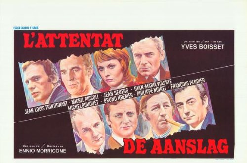 The Assassination Plakat Movie Poster (27 x 40 Inches - 69cm x 102cm) (1972) Belgian