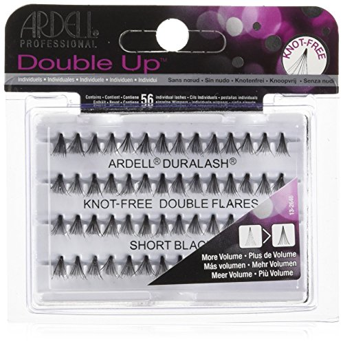 ARDELL Professional Double Individuals Knot-Free Double Flares - Short Black