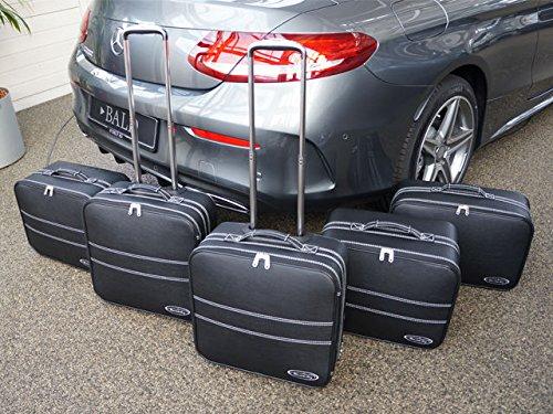 CKS Cabriolet Cabrio Gepäck Tasche Koffer Set chrom 2-205cab