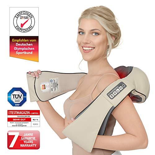 Pflege- & Wellness-geräte Nackenmassagegerät Optimus New Generation Munich Spring Shiatsu Wärmefunktion Elektrische Massagegeräte