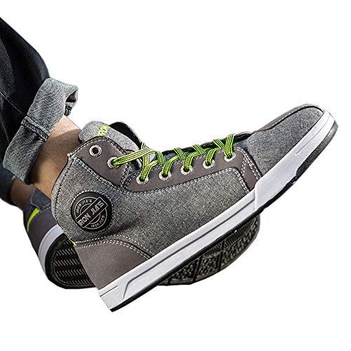Botas Moto de la Moda, Zapatillas de Deporte Ocasionales de la Bici...