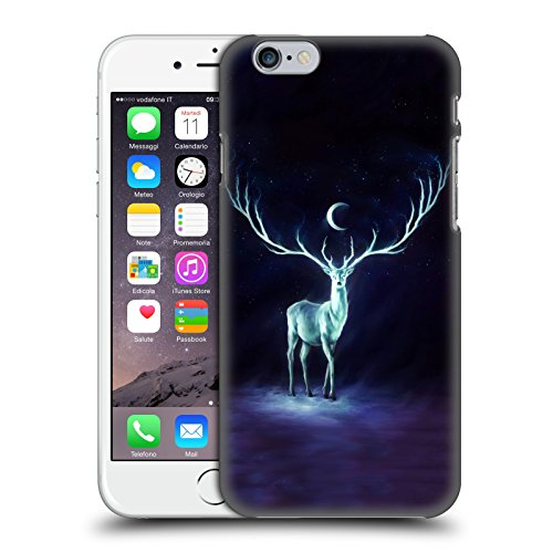 Ufficiale Jonas jojoesart Jödicke Lupo Galassia Animali Selvatici Cover Retro Rigida per Apple iPhone 6 / 6s Nightbringer