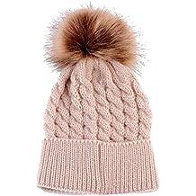 6f13719082051 Sombreros de bebé Amlaiworld Bebé niños niñas invierno punto dobladillo  sombrero