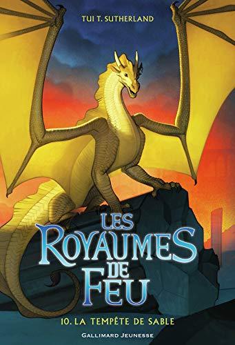 Les Royaumes de Feu (Tome 10) - La tempête de sable par  Gallimard Jeunesse