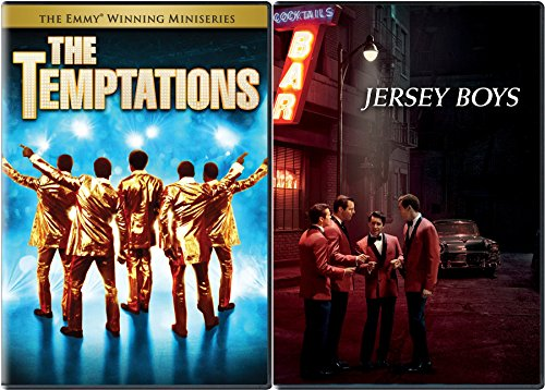 Jersey Boys Musical & The Temptations DVD musical Collection 2 movie Set