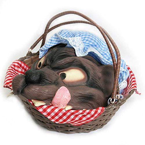 Rotkäppchen Freches Kostüm - Horror-Shop Rotkäppchen Picknickkorb mit Wolf