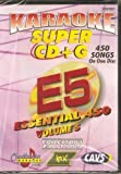 CHARTBUSTER SUPER CD+G Volume #5 - 450 CDG Karaoke Songs Playable on CAVS System or on your PC DVD player using Windows. by mix