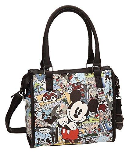 Disney 3236651 Mickey Comic Umhängetasche, Mehrfarbig (Disney Tasche)