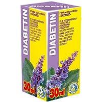 Diabetin 30ml Phyto Konzentrat - Natürliche Pflanzenextrakte Komplex - Effektive Behandlung - Glykämie - Blutzucker... preisvergleich bei billige-tabletten.eu