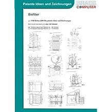 Biofilter, über 1700 Seiten (DIN A4) patente Ideen und Zeichnungen