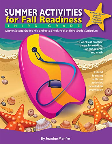 Summer Activities for Fall Readiness: Third Grade (English Edition)