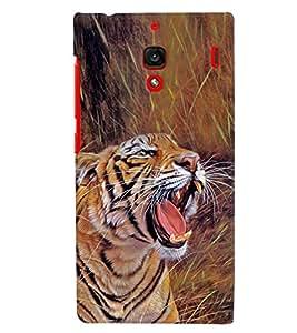 MakeMyCase Jungle tiger case For xiaomi Redmi 1S