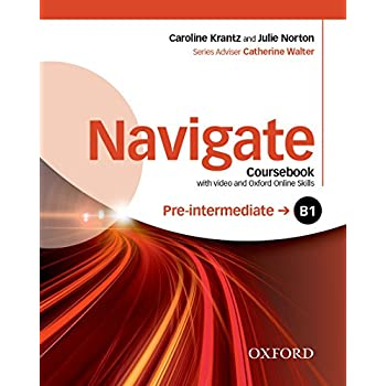 Navigate B1 Pre-intermediate : Coursebook (1DVD)