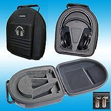 v-mota TDC auriculares maleta Carry Case Boxs para AKG K612PRO K712Pro K701K702K702Q701K812pro K60y Sony mdr-z7y phinps Fidelio X1X2shp9000auriculares (maleta)