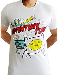 Adventure time Algebraic Jake Finn Cartoon TV Official Mens White T-shirt
