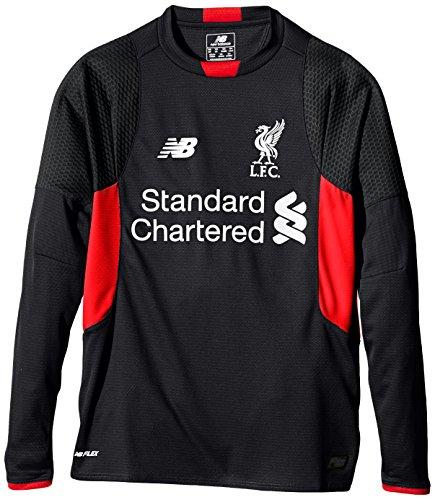 New Balance Liverpool FC - Camiseta de Manga Larga para Hombre, Talla XL, Color Negro
