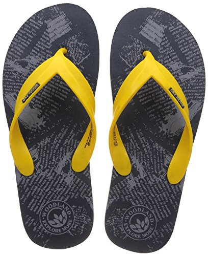 Woodland Men's Navy Flip Flops Thong Sandals - 6 UK/India (40 EU)  available at amazon for Rs.299