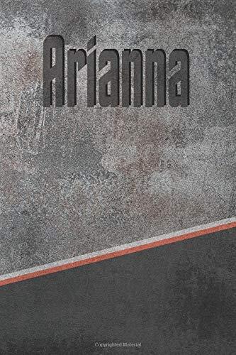 Arianna: Stone Name Writing Journal por Rob Cole