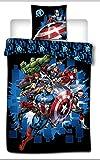 Comics Avengers - Parure de lit - Housse de Couette 1 Place
