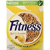 Nestlé Fitness Miel & Amandes - Céréales du Petit Déjeuner - Paquet de 355 g - Lot de 4
