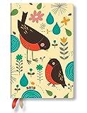 Paperblanks - Tracy Walkers Mutter Rotkehlchen - Kalender 12 Monate 2019 Mini Tagesüberblick - deutschsprachige Ausgabe