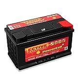 ECTIVE 85Ah 740A EPC-Serie 12V Autobatterie in 8 Varianten: 46Ah - 100Ah (wartungsfrei)
