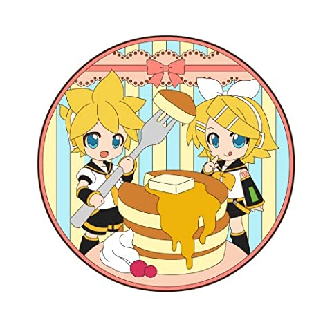 Pikuriru! Rin Kagamine & Ren Kagamine Rubber Coaster Sweets Time