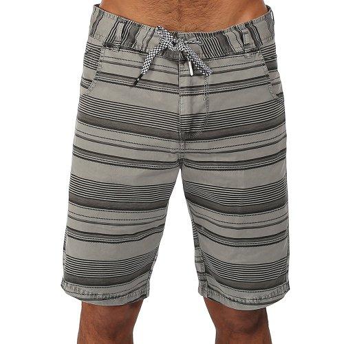 Bench, Pantaloni corti Uomo Ben Piece Out, Grigio (grau), (Tallia Produttore: 28)