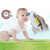 FOUR Termometro Orecchio termometro Fronte termometro termometro Digitale con Febbre Allarme, 1 Sec Tempo di Misura per Bambini e Adulti