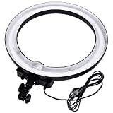 Neewer® Professionelle Fotografie Kamera/Video Dimmbar 18'Aussen 14'Innen (75W 5500K) Ring...
